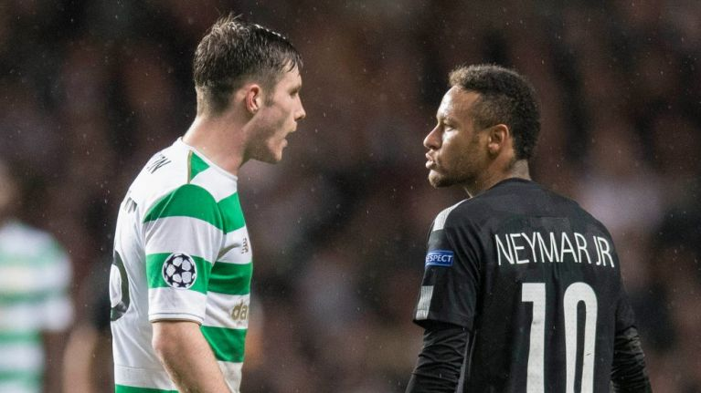 Celtic's Anthony Ralston gives his take on Neymar snub