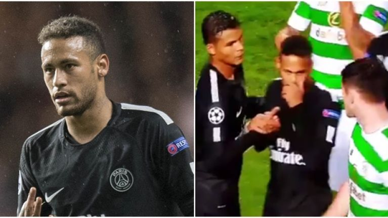 Neymar may have made up for handshake snub with classy jersey gesture