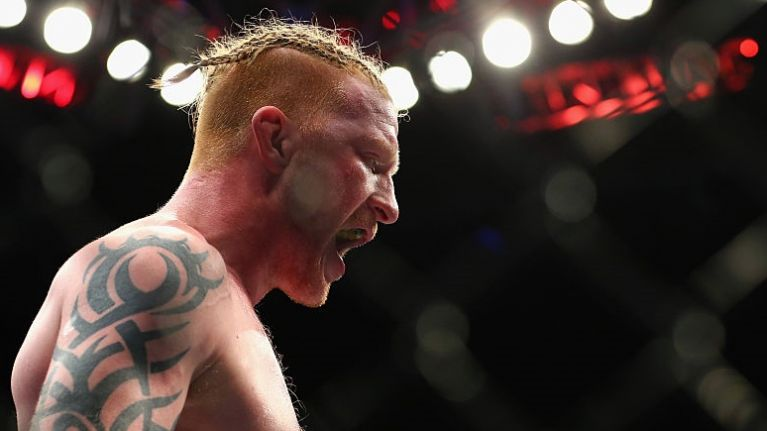 UFC star's injury is so gruesome he felt compelled to apologise over it
