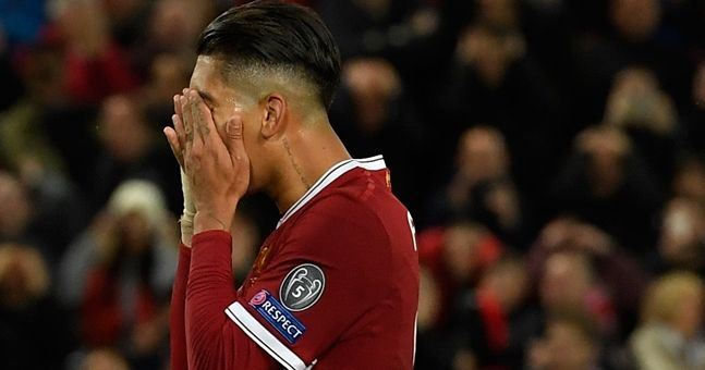 Draw at home to Sevilla clearly hit Roberto Firmino pretty hard
