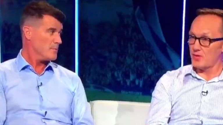 Roy Keane's reaction to players shaving their legs is unintentionally hilarious