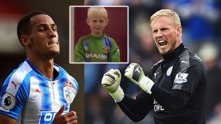 Watch Brilliant Footage Resurfaces Of A Young Kasper Schmeichel And Tom Ince Ahead Of Their