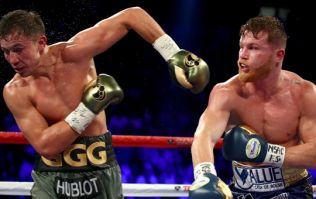 How Gennady Golovkin managed to eat this shot continues to astound us