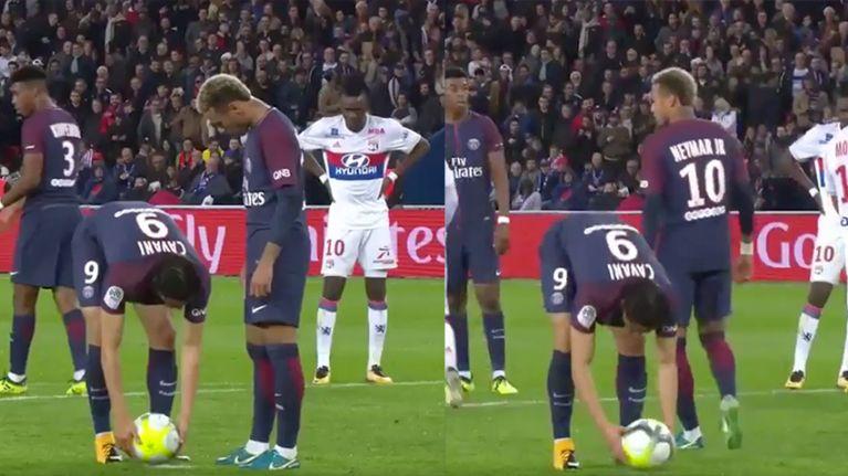 Neymar 'unfollows Cavani on Instagram' following penalty disagreement