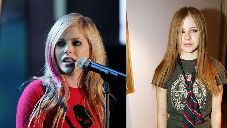 Avril Lavigne tops list of the ten most dangerous celebrities on the internet