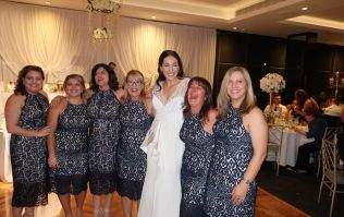 Five important questions about the six women who turned up to a wedding in the same dress