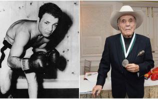Legendary boxer Jake LaMotta has died aged 95