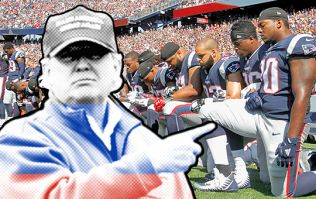 COMMENT: Donald Trump's star-spangled distraction tactics have nothing to do with patriotism