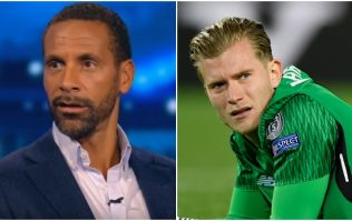 Rio Ferdinand says what needs to be said about Loris Karius