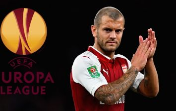 Jack Wilshere compared to one of the best footballers ever after performance in Europa League win
