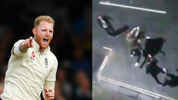 Video emerges which allegedly shows Ben Stokes in a violent street brawl