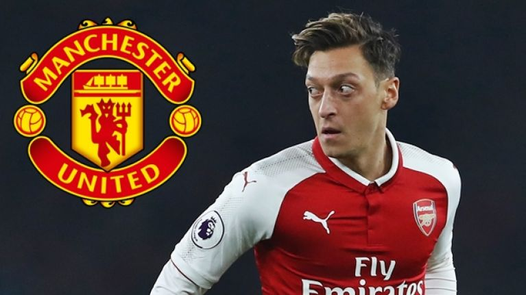 Manchester United will reportedly try sign Mesut Ozil in January