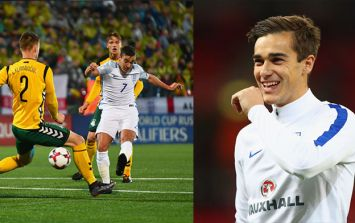 Everyone makes the same joke as Harry Winks makes his England debut