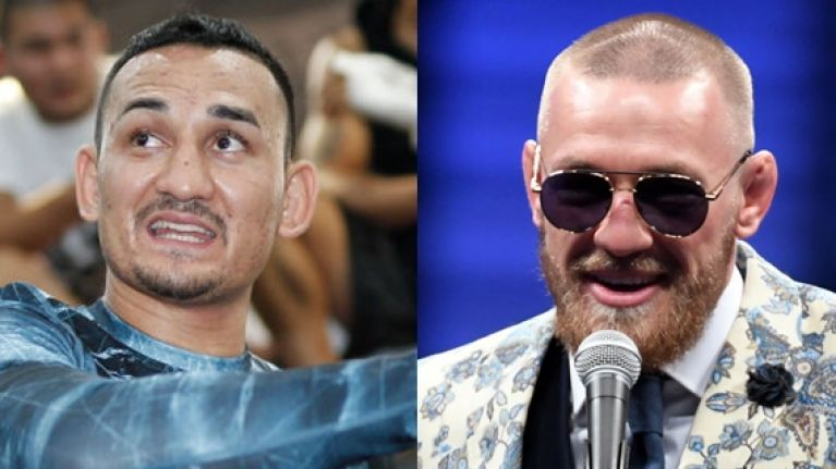 Conor McGregor's compliment towards Max Holloway wasn't very well-received