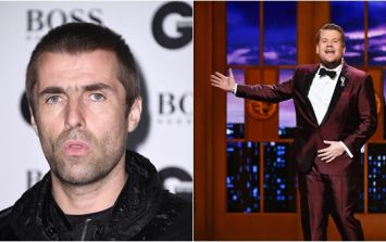 Liam Gallagher has completely changed his tune on James Corden
