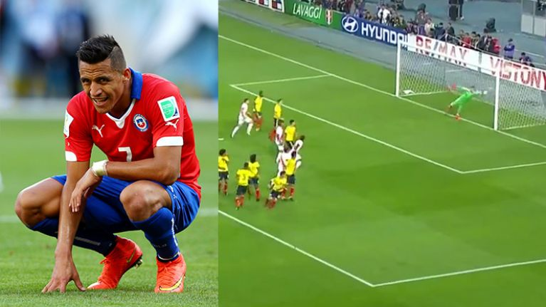 David Ospina's failure to remember rule costs Alexis Sanchez's Chile a place at the World Cup