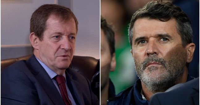 Alastair Campbell shares great half-time story about Roy Keane and Premier League full-backs