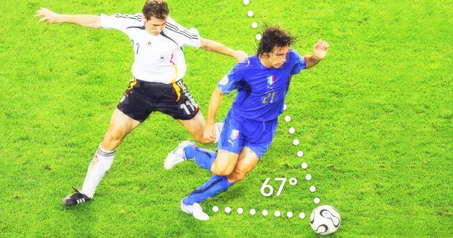 Andrea Pirlo and the most important three seconds of his career
