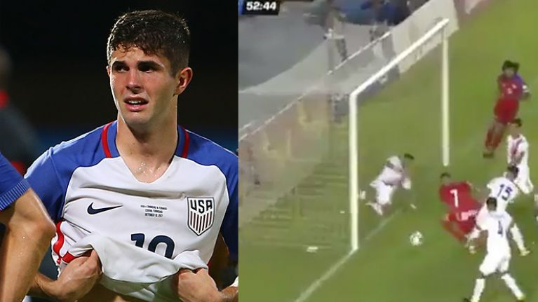 WATCH: Controversial 'goal' for Panama helps deny USA World Cup spot