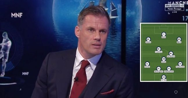 Jamie Carragher has named his Premier League team of 2017