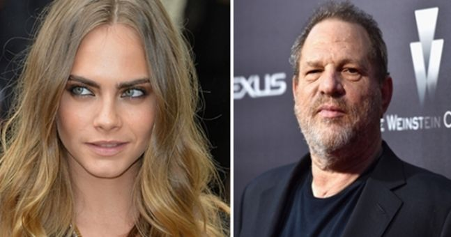 Cara Delevingne is the latest person to say that Harvey Weinstein sexually harassed them