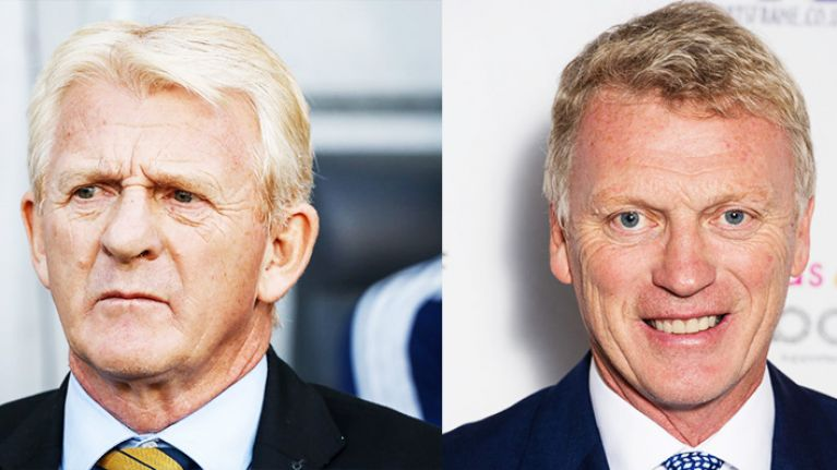 Football fans react to the news David Moyes is favourite to replace Gordon Strachan as Scotland boss