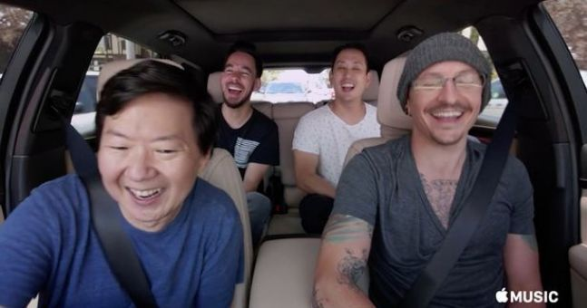 Chester Bennington's Carpool Karaoke episode has been released
