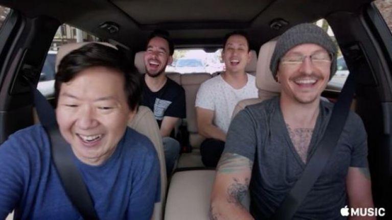 Chester Bennington's Carpool Karaoke episode has been released