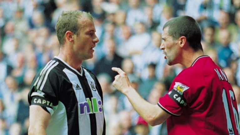 Alan Shearer reveals he almost fought Roy Keane in the tunnel after a match