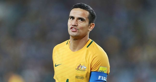 People aren't happy with Tim Cahill's celebration in Australia's World Cup qualifying win