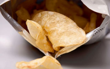 This is why there's so much bloody air in your packet of crisps