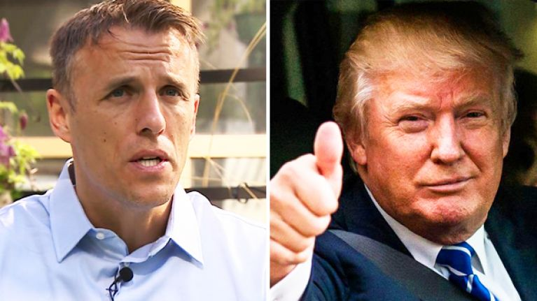 Phil Neville tried to get political and it didn't end well