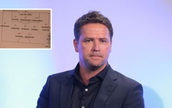 "Ex-Liverpool defender is delighted just to be ""first sub"" in Michael Owen's best XI"