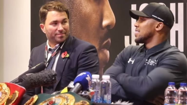 Anthony Joshua shocked to learn that he lost a round to Carlos Takam