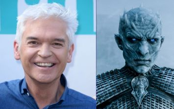 Phillip Schofield wins Halloween with terrifying Night King makeover
