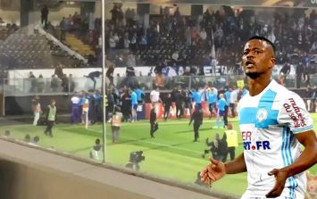 Marseille issue punishment to Patrice Evra after incident with fan