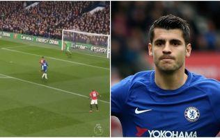 Two Manchester United players blamed for brilliant Alvaro Morata goal
