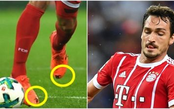 Mats Hummels explains why he cut holes in his boots