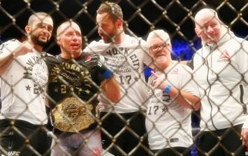 Georges St-Pierre has already given away the middleweight belt he won at UFC 217