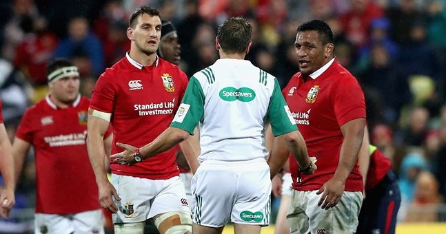 "Sam Warburton on his Lions relationship with three English ""characters"""