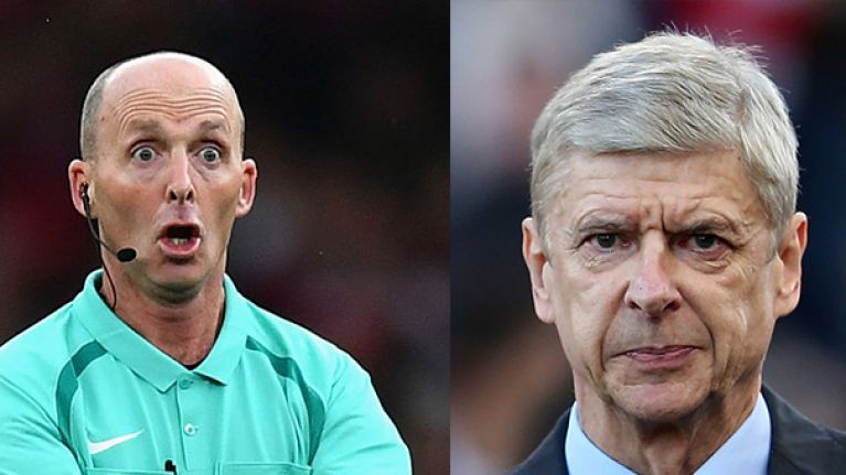 Arsenal fans rage as Mike Dean confirmed as North London Derby referee