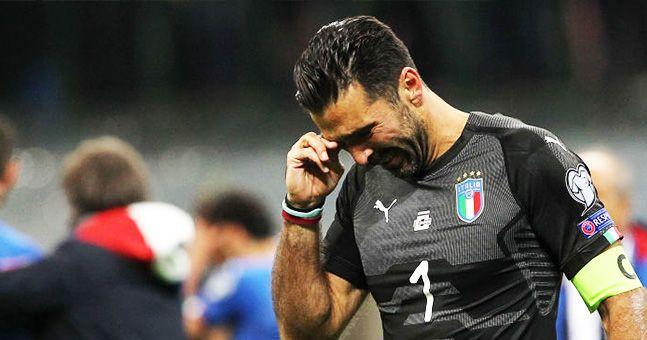 Gianluigi Buffon confirms international career is over after qualification failure