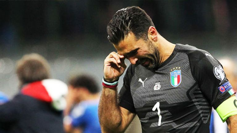 Gianluigi Buffon confirms international career is over after qualification failure