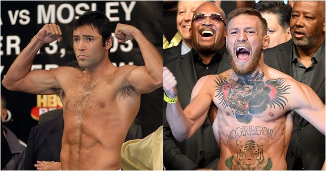 Oscar De La Hoya actually wants to come out of retirement to fight Conor McGregor