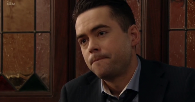 Viewers noticed the same thing in Todd Grimshaw's scene on Corrie