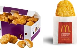 Man arrested shortly after his order of 200 hash browns and nuggets is refused