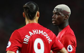Paul Pogba and Zlatan Ibrahimovic are in the Manchester United squad to face Newcastle