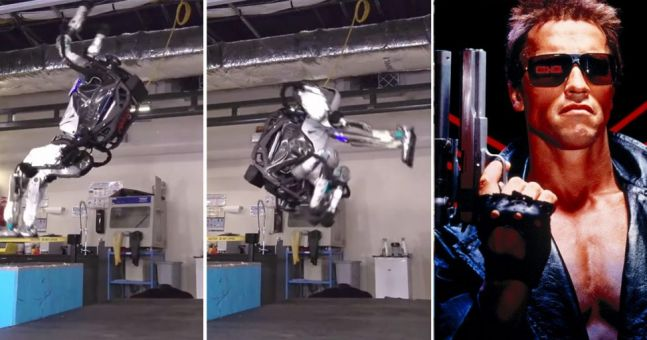 WATCH: This backflipping robot proves the machines are about to rise up and kill us all