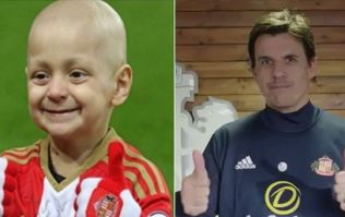 Watch: Chris Coleman marks Sunderland arrival with thumbs up for Bradley Lowery