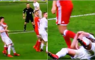Leeds supporters baffled as linesman sees rugby tackle but not bodyslam